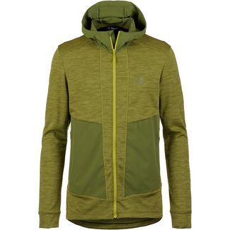 Salomon OUTLINE Fleecejacke Herren citronelle-avocado
