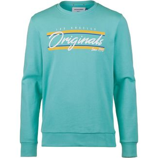 CORE by JACK & JONES JORRETRO CALI Sweatshirt Herren aqua sky