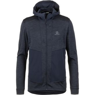 Salomon OUTLINE Fleecejacke Herren night sky heather