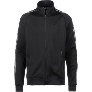 Nike NSW Polyjacke Herren black-white