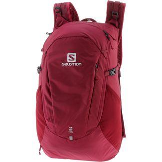 Salomon Trailblazer 30 Daypack biking red-ebony