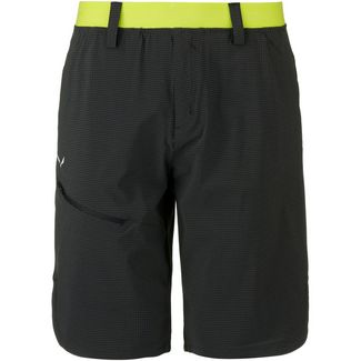SALEWA PUEZ 3 Funktionsshorts Herren black out