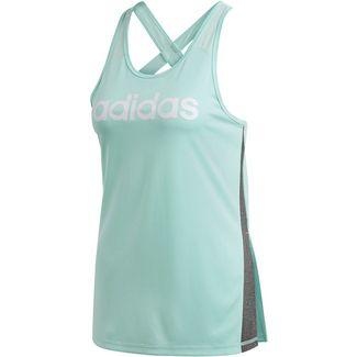 adidas Linear Tanktop Damen clear mint