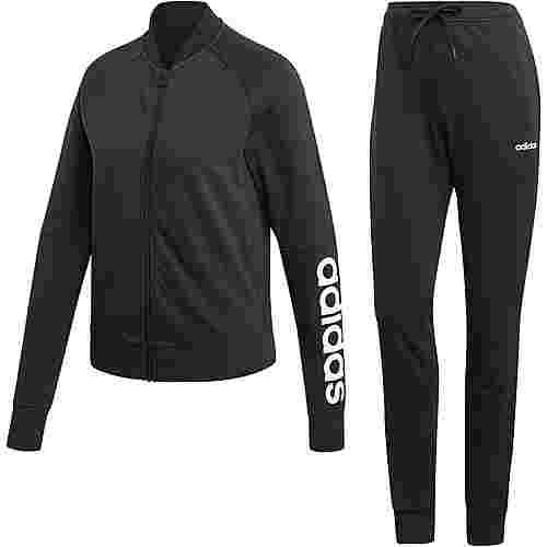 adidas Cotten Trainingsanzug Damen black