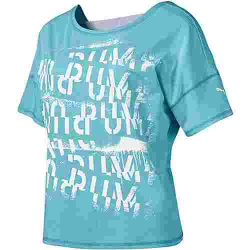 PUMA Funktionsshirt Damen milky blue