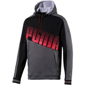 PUMA Collective Hoodie Herren black-grey