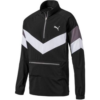 PUMA Reactive Packable Funktionsjacke Herren black-white