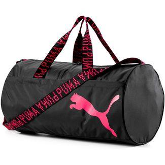 PUMA Sporttasche Damen puma black-pink alert-aop