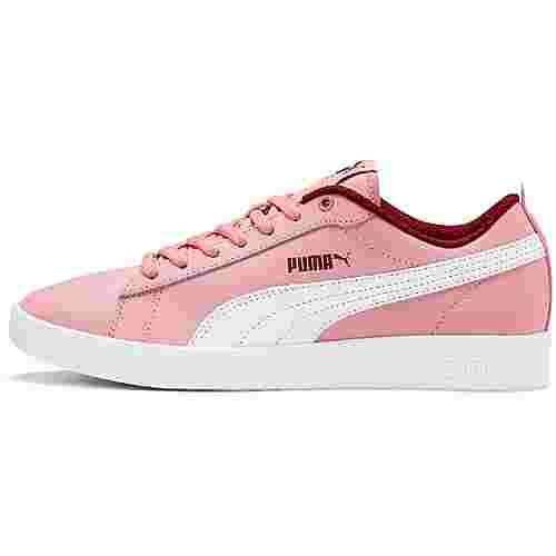 PUMA Smash Sneaker Damen bridal rose-fired brick-puma white