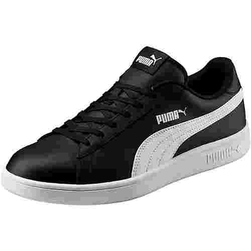 PUMA Smash Sneaker Herren puma black-puma white