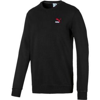 PUMA Classics Sweatshirt Herren cotton black