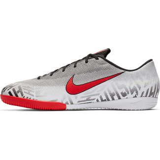 Nike MERCURIAL VAPOR 12 ACADEMY NJR IC Fußballschuhe white-challenge red-black-black