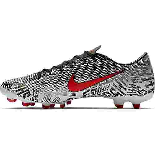 Nike MERCURIAL VAPOR 12 ACADEMY NJR FG/MG Fußballschuhe white-challenge red-black-black