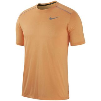Nike Dry Cool Miller Laufshirt Herren fuel orange