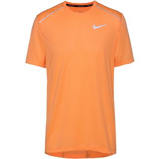 Nike Breathe Rise 365 Laufshirt Herren fuel orange