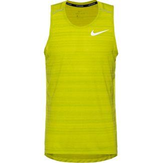 Nike Dry Miller Funktionstank Herren bright cactus