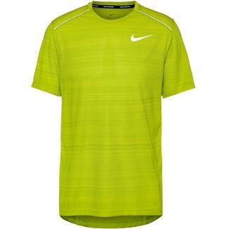 Nike Dry Miller Laufshirt Herren bright cactus