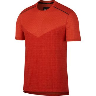Nike Tech Pack Laufshirt Herren team orange