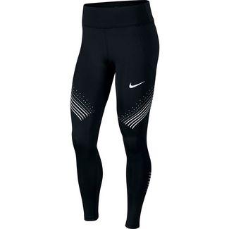 Nike Fast Lauftights Damen black-white