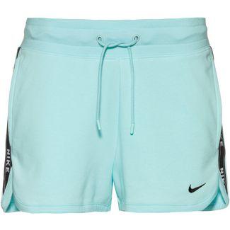 Nike NSW Shorts Damen teal-tint-white-teal tint