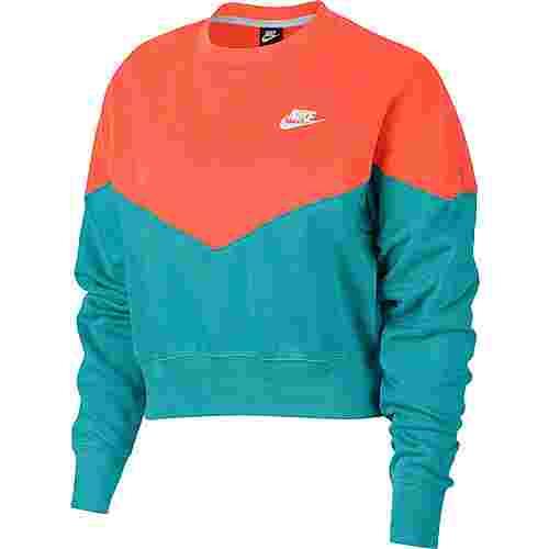 Nike NSW Sweatshirt Damen cabana-turf orange