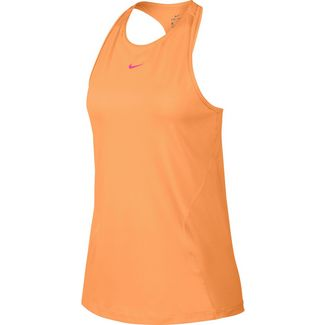 Nike Pro Tanktop Damen fuel orange-laser fuchsia