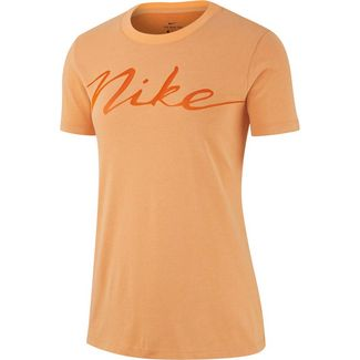 Nike T-Shirt Damen fuel orange-campfire orange