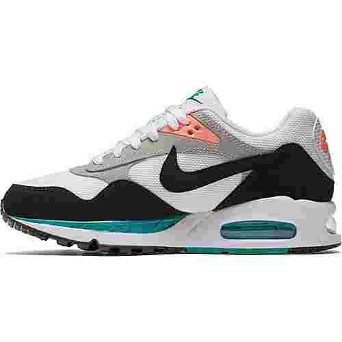 Nike Air Max Correlate Sneaker Damen white-black-new green
