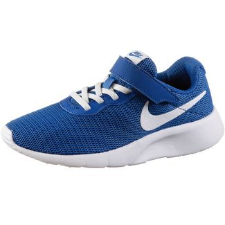 Nike Tanjun Sneaker Kinder game royal-white