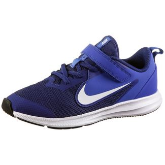 Nike Downshifter Laufschuhe Kinder deep royal blue-white