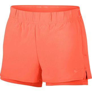 Nike W NKCT FLEX Tennisshorts Damen orange pulse-orange pulse