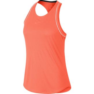 Nike W NKCT DRY Tanktop Damen orange pulse-white-white-orange pulse