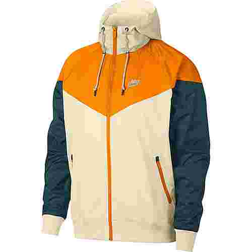 Nike NSW Windrunner Kapuzenjacke Herren light cream-orange peel