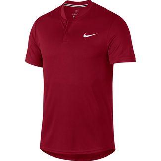 Nike M NKCT DRY BLADE Poloshirt Herren team crimson-white