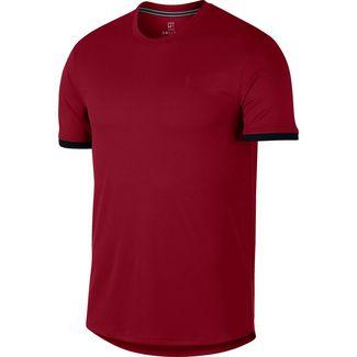 Nike M NKCT DRY TOP SS CLRBLK Funktionsshirt Herren team crimson-black-black