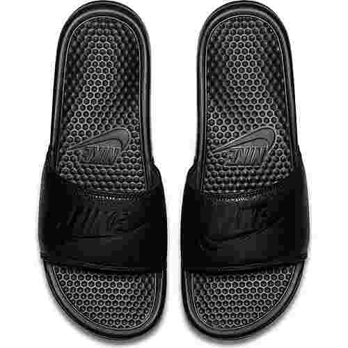 Nike Benassi JDI Badelatschen Herren black-black-black