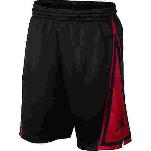Nike Jumpman Franchise Basketball-Shorts Herren black-gym red-black