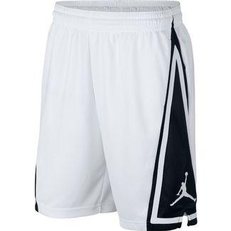 Nike Jumpman Franchise Basketball-Shorts Herren white-black-white