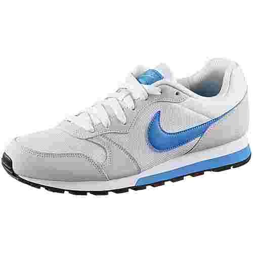 Nike MD Runner2 Sneaker Herren white-photo blue-gamma blue