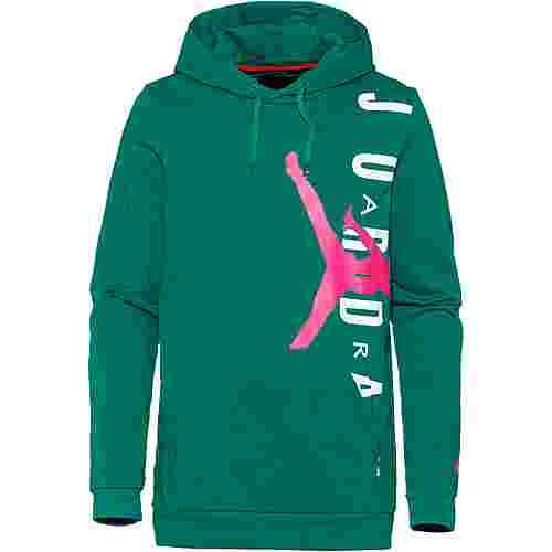 Nike Jumpman Hoodie Herren mystic green-hyper pink
