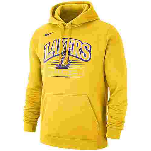 Nike Los Angeles Lakers Hoodie Herren amarillo-amarillo