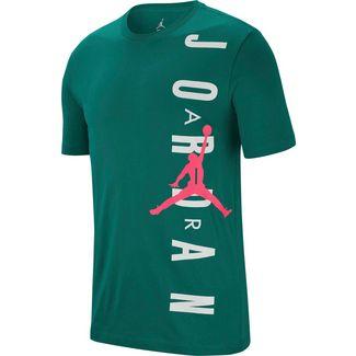 Nike Jumpman Basketball Shirt Herren mystic green-hyper pink
