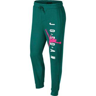 Nike Jumpman Hose Herren mystic green-hyper pink