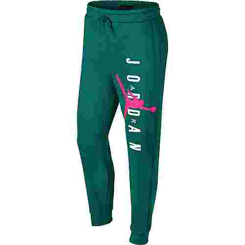 Nike Jumpman Sweathose Herren mystic green-hyper pink