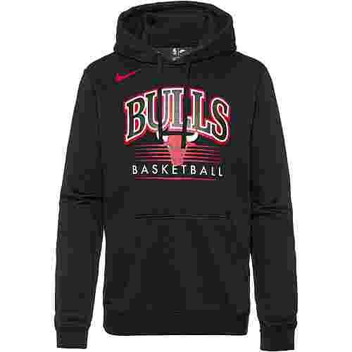 Nike Chicago Bulls Hoodie Herren black-black