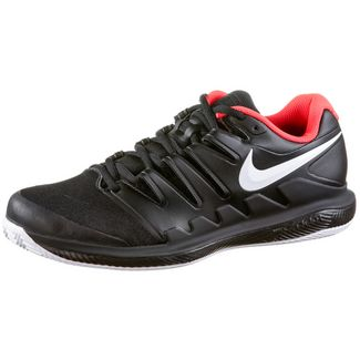 Nike  AIR ZOOM VAPOR X CLY Tennisschuhe Herren black-white-brt crimson
