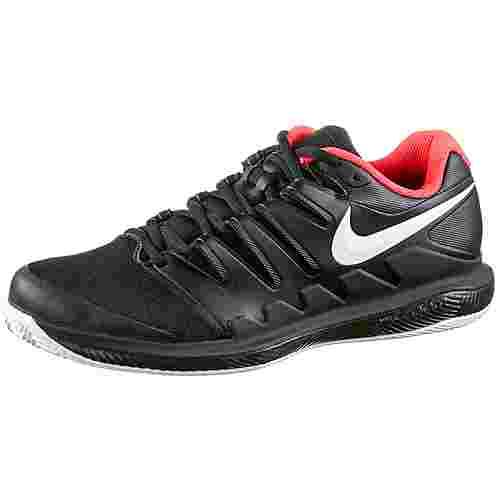 Nike  AIR ZOOM VAPOR X CLY Tennisschuhe Herren black-white-brt crimson