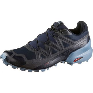 Salomon Speedcross 5 Trailrunning Schuhe Herren navy blazer-ebony-bluestone
