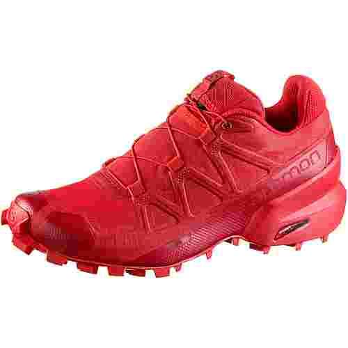 Salomon Speedcross 5 Trailrunning Schuhe Damen high risk red-barbados-barbados