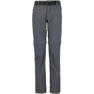 CMP Zipphose Kinder grey-cyano